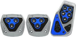 Pilot Automotive Pilot PM-2313B2 Voltage Pedal Pad Set for Manual Transmissions - Black/Blue