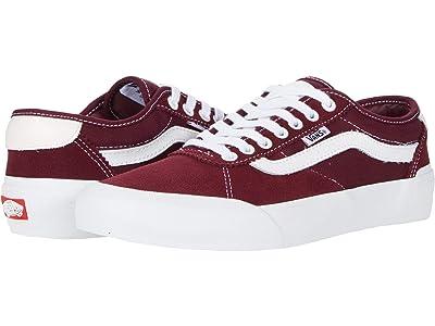 Vans Chima Pro 2 (Port/White) Skate Shoes