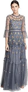 needle and thread embellished dress