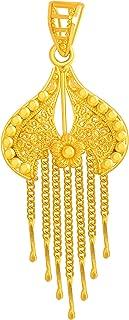 P. C. Chandra Jewellers 22KT Yellow Gold Pendant for Women
