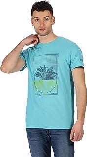 Regatta T-Shirt Manches Longues Junior Wendell 100/% Coton Coolweave avec Imprim/é Graphique T-Shirts Mixte Enfant