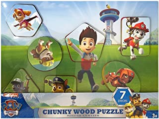 Spin Master Paw Patrol Chunky Wood Puzzle Style (Assorted Styles)