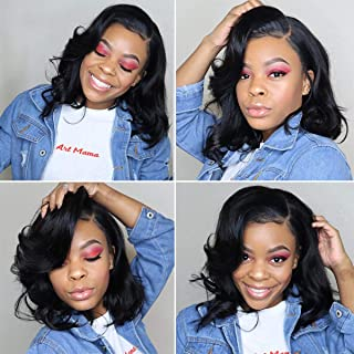 Kreesi 100% Brazilian Human Hair 360 Lace Frontal Wigs With Baby Hair Body Wave Glueless Pre Plucked Lace Front Wig For Black Women Natural Color 150% Density
