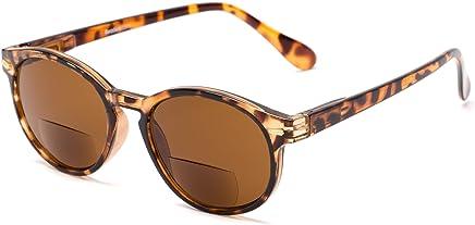Readers.com | The Drama Bifocal Reading Sunglasses Round Stylish Men's & Women's Full Frame Reading Sunglasses