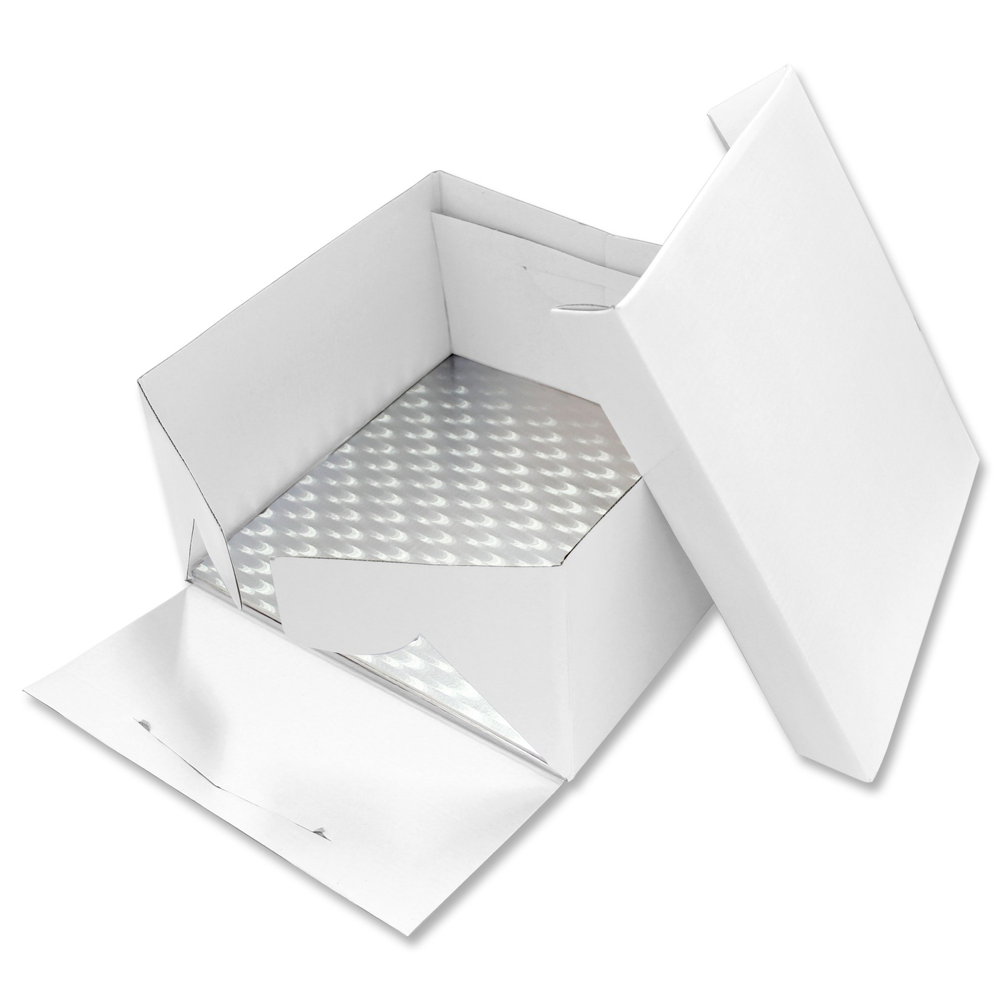 PME Tarjeta de Pastel Alargada y Caja para Pastel 13 x 9 Pulgadas 33 x 23 cm