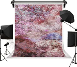 Kate 5x7ft/1.5m(W) x2.2m(H) Spring Backdrop Photography Backdrops Red Pink White Flowers Retro Backgrounds Photography Studio Photo