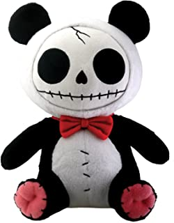 SUMMIT COLLECTION Furrybones Panda Bear Pandie Wearing Red Bow Tie Plush Doll
