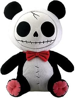 Furrybones Panda Bear Pandie Wearing Red Bow Tie Plush Doll