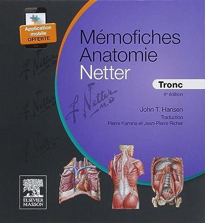 Mémofiches Anatomie Netter: Tronc