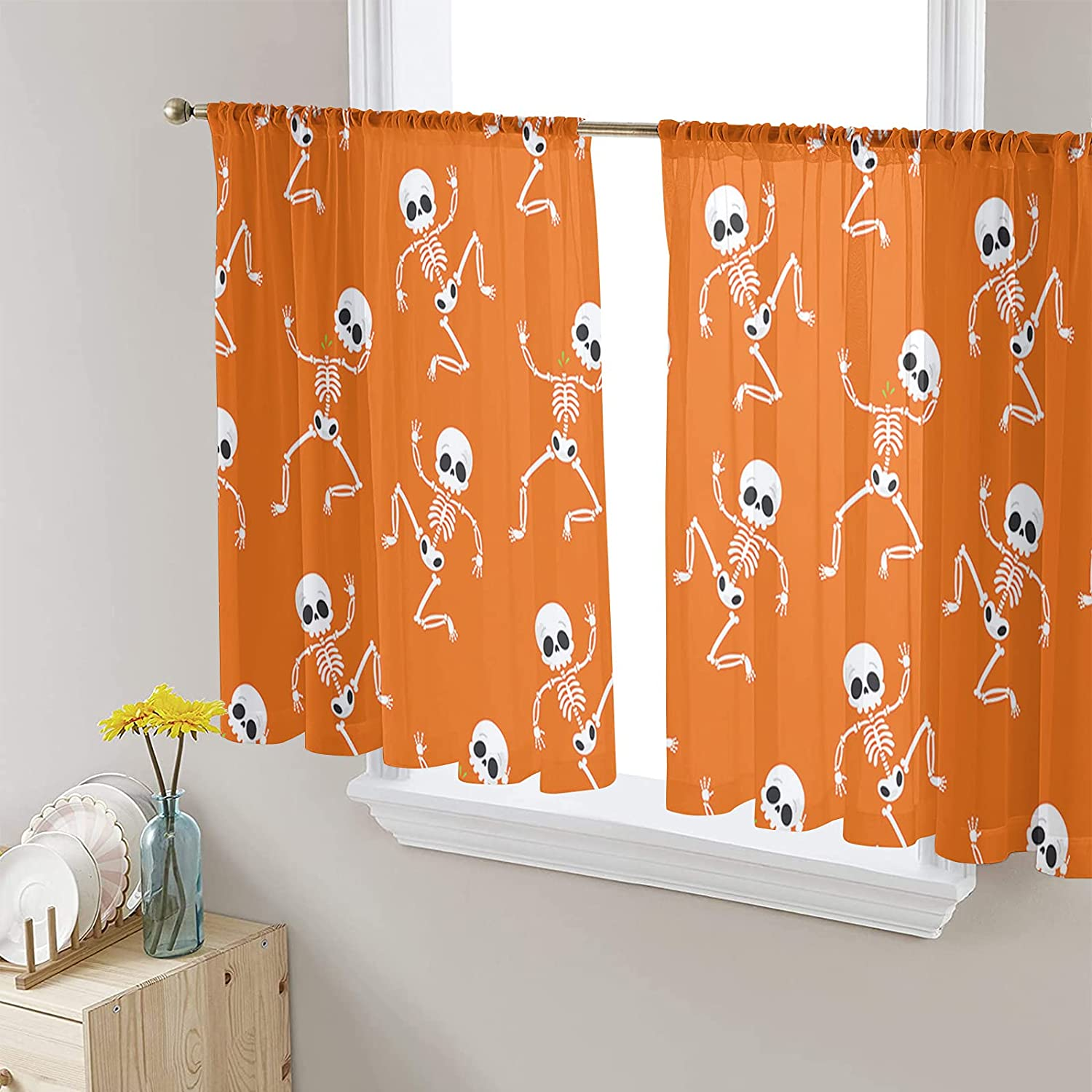 Sheer NEW Voile Chiffon Window Curtains Super beauty product restock quality top! Soft with Fre Wrinkle Touch