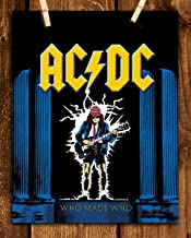 AC DC Band Music Poster