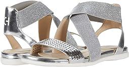 Silver Specchio Perferated Upper