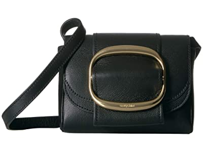 See by Chloe Hopper Mini Shoulder Bag (Black) Handbags