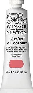 Winsor & Newton Artists' Oil Colour Paint, 37ml Tube, Rose Madder Genuine