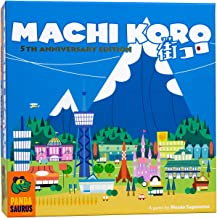 Pandasaurus Games Machi Koro - Family-Friendly Board Games - Adult Games for Game Night - Card Games for Adults, Teens & K...
