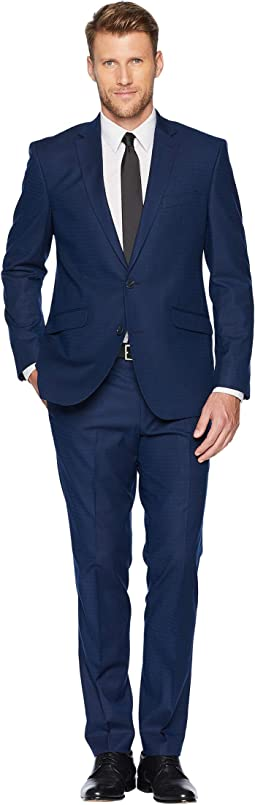 "Slim Fit Stretch Performance 32"" Finished Bottom Suit"