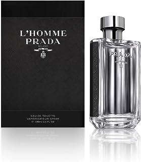 Prada L'Homme For Men Eau De Toilette Spray, 3.4 Fluid Ounce