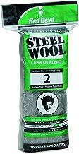 Red Devil 0315 16-Pack Steel Wool, #2 Medium Course
