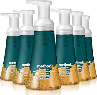 Method Foaming Hand Wash, Frosted Fir, 10 Ounces, 6 Count