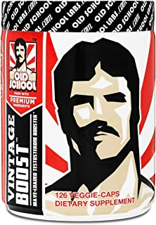 Vintage Boost Testosterone Booster - Wave-Loaded Natural Stamina Booster Testosterone Supplement - Fast-Acting, Safe & Eff...