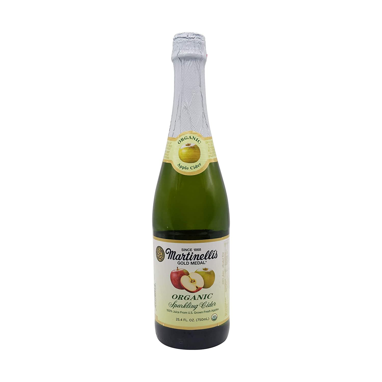 Martinelli Juice Sparkling Cider organic, 25.4 oz