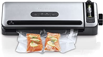 FoodSaver VS7850 Controlled Seal Vacuum Sealer, Stainless Steel