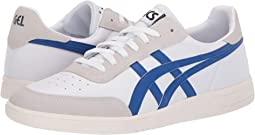 White/Asics Blue