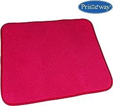 Primeway HoneyComb Polyester Dish Drying Mat, 280 GSM, 40x45cm, Pink