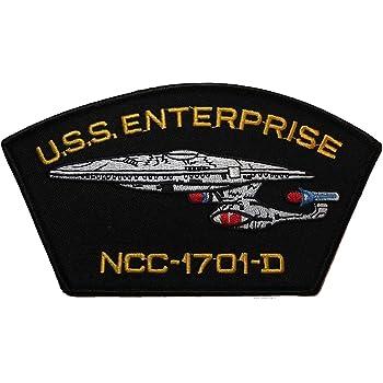 "Star Trek Starfleet Name Logo 4/"" Wide Embroidered Patch"