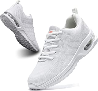 BUBUDENG Women's Mens Trainers Air Cushion Sneakers Walking Casual Running Shoes Gym Sport Breathable