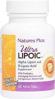 Natures Plus - Ultra Lipoic Alpha & R-Lipoic Acid Mini-Tabs 60 Tablets 84655