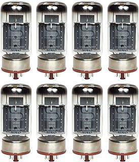 Brand New Current Matched Octet (8) Svetlana 6550 / 6550C (KT88) Vacuum Tubes SH