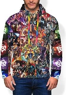 Mens Avenger's Endgame 3D Print Pullover Hoodie Hooded Seatshirts Sweaters