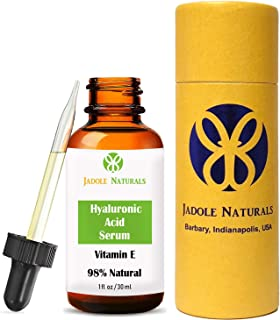 Jadole Naturals Hyaluronic Acid Serum For Face 30 ml, Pack of 1