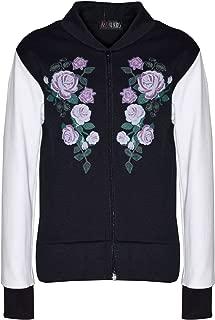 Vanilla Ink New Kids Girls Childrens Bomber Ma1 Style Pilot Biker Jacket Coat Top Age 7-13