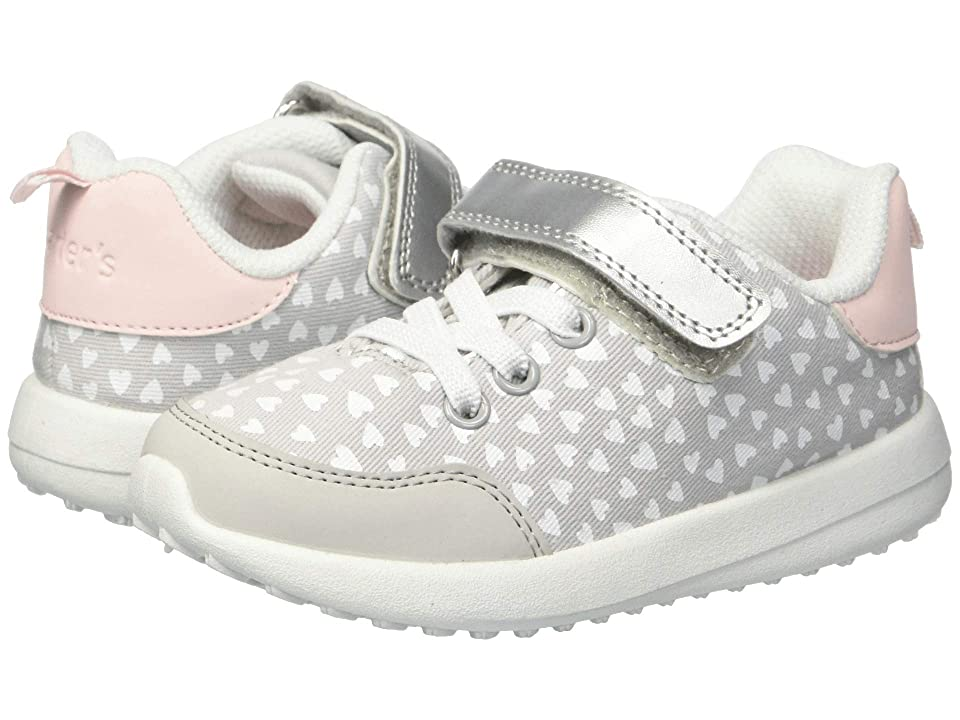 Carters Burst 2-G (Toddler/Little Kid) (Grey Twill/Nubuck PU) Girl