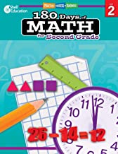 180 Days of Math: Grade 2 - Daily Math Practice Workbook for Classroom and Home, Cool and Fun Math, Elementary School Leve...