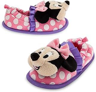977e58e0c Disney Kids Minnie Mouse Happy Helpers Plush Slippers Pink