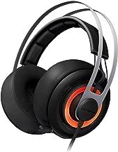 SteelSeries Siberia Elite Headset with Dolby 7.1 Surround Sound (Black) (Renewed)