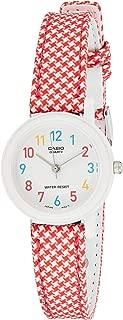 Casio For Women Analog Lq-139Lb-4B Resin Watch, Red Band
