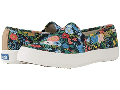 Keds x Rifle Paper Co. Double Decker Garden Party