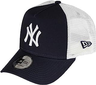 New Era York Yankees Frame Adjustable Trucker Cap Reverse Team