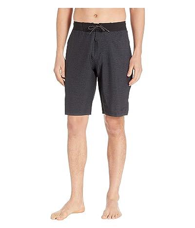 Nike 11 Linen Blade Boardshorts (Black) Men