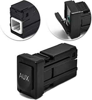Aux Port for Toyota Part Number 86190-02010 Car Radio Repair Parts Audio Input Jack Kit Auxiliary Replacement Adapter for Corolla Tundra Camry RAV4 Tacoma Highlander Sienna Matrix Venza 2007-2015