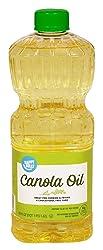 Amazon Brand - Happy Belly Canola Oil, 48 Ounces