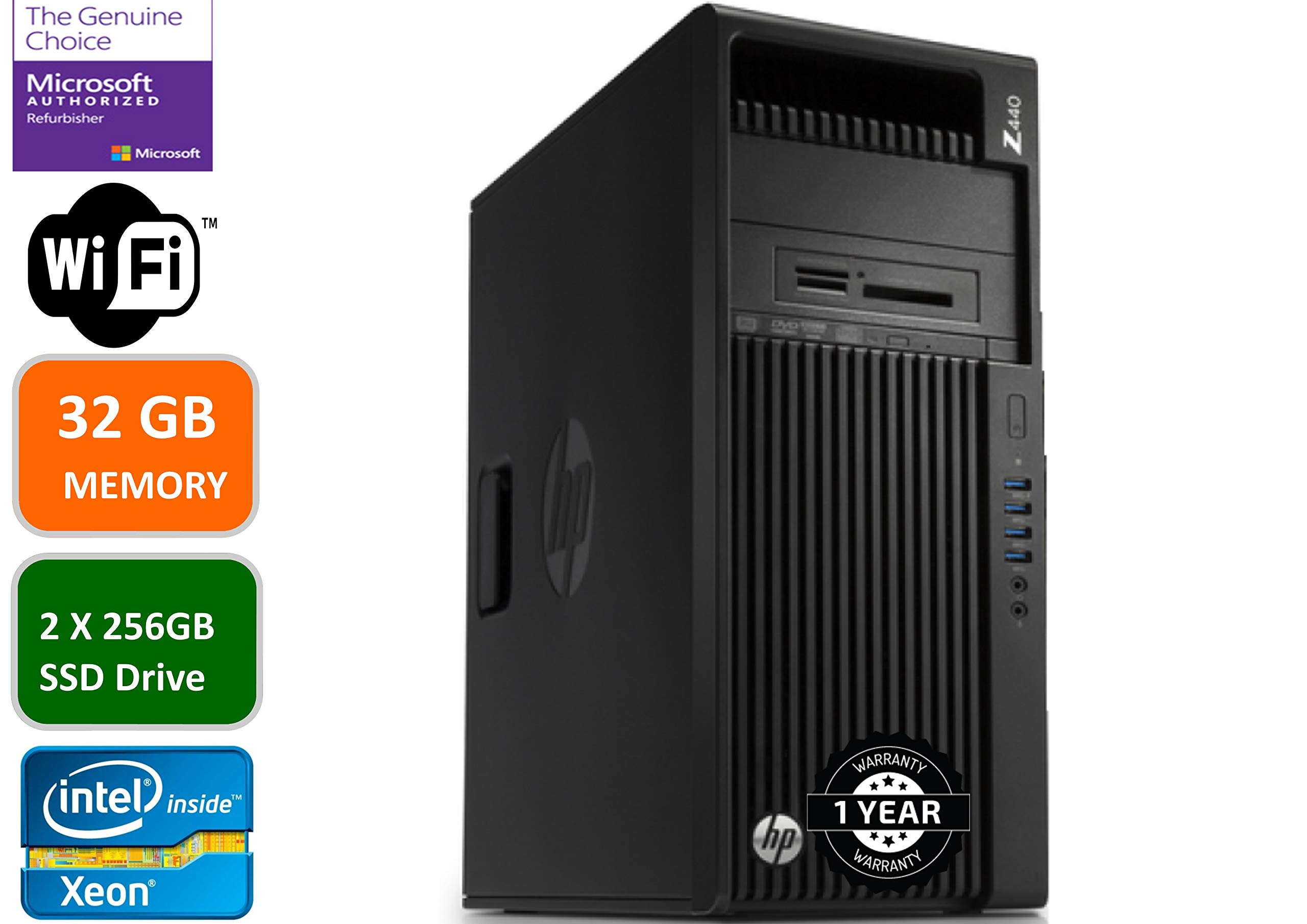 HP Z440 Business Workstation Desktop