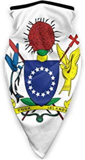 Cooköarna flagga multifunktionell sport ansiktsmask balaklava, vindtät unisex ansiktsskydd turban halsduk vuxen utomhusspo...