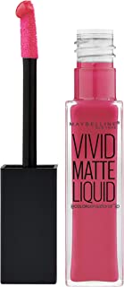 Maybelline New York Color Sensational Vivid Matte Liquid Lip Gloss 30 Fuchs
