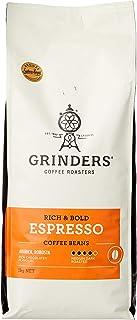 Grinders Coffee, Espresso, Roasted Beans 1kg