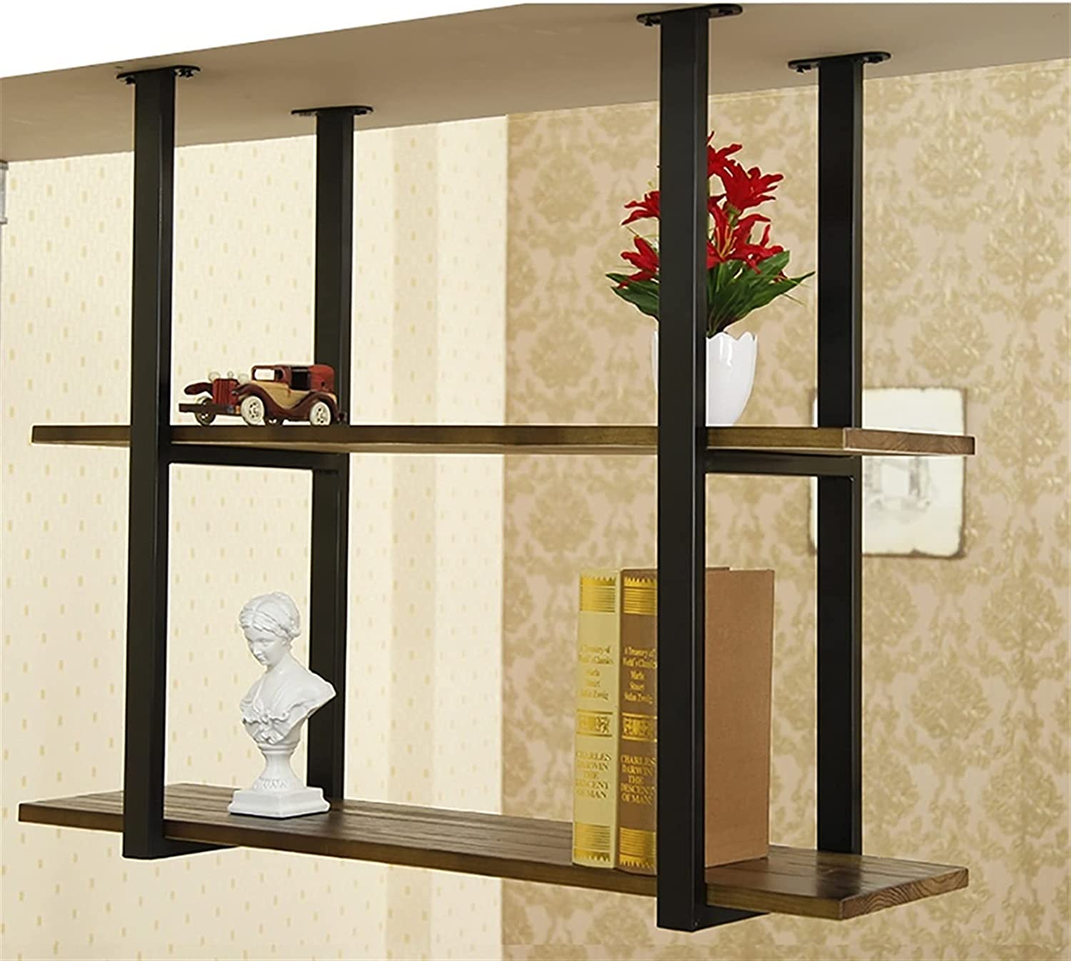 JHJIUJ Ceiling Wine Rack Suspension Shelves for LOF Storage Wall Super beauty product Max 75% OFF restock quality top